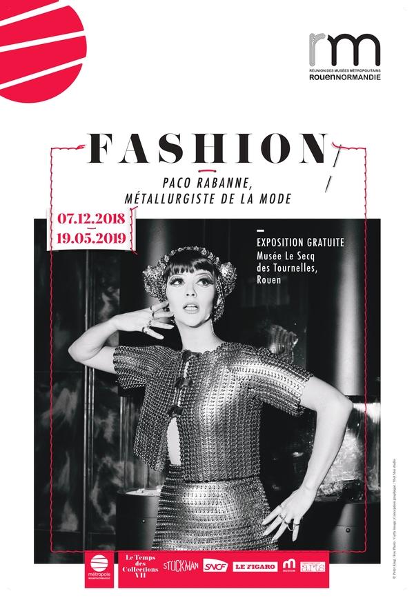 Nuit des musées 2019 -Exposition : Paco Rabanne, métallurgiste de la mode / Conversation en salle