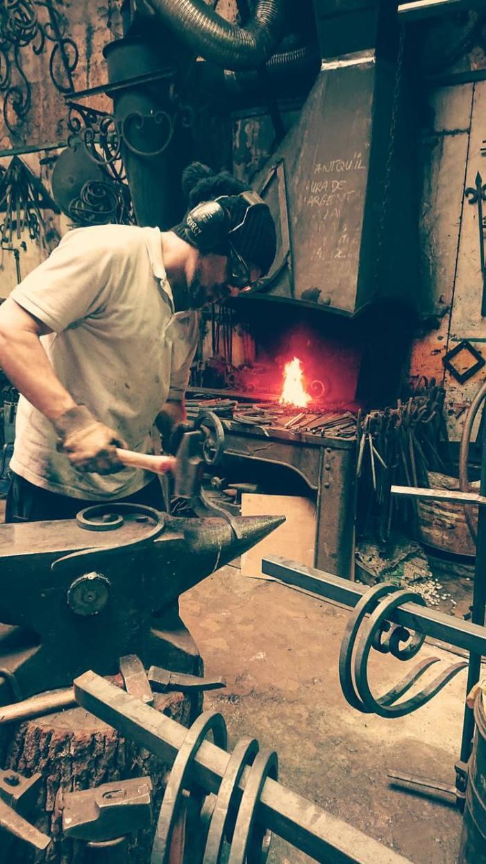 Journées du patrimoine 2020 - Annulé | Atelier de ferronnerie d'art