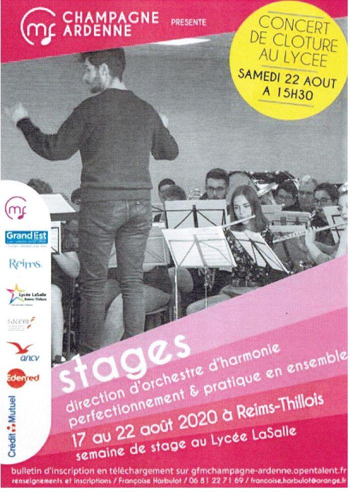 Stage de Direction d'orchestre d'harmonie