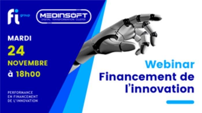 Webinar sur le financement de l'innovation