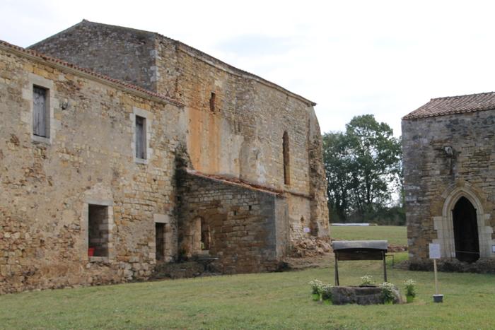Journées du patrimoine 2020 - Abbaye de Trizay (85)