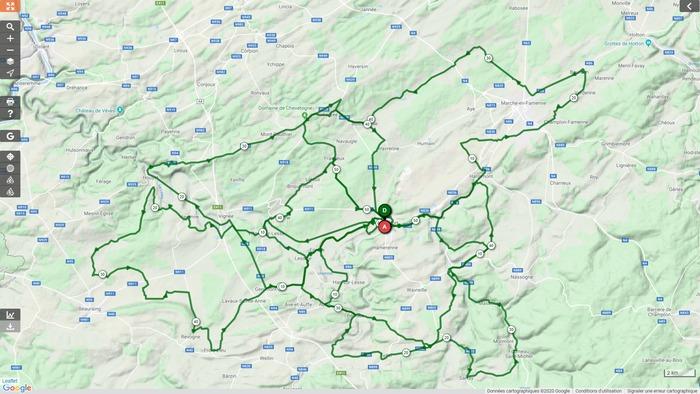 Vélo Club Rochefort - Sortie du dimanche 05 avril 2020 - Gr. 2 - Sortie annulée (lutte contre le coronavirus).
