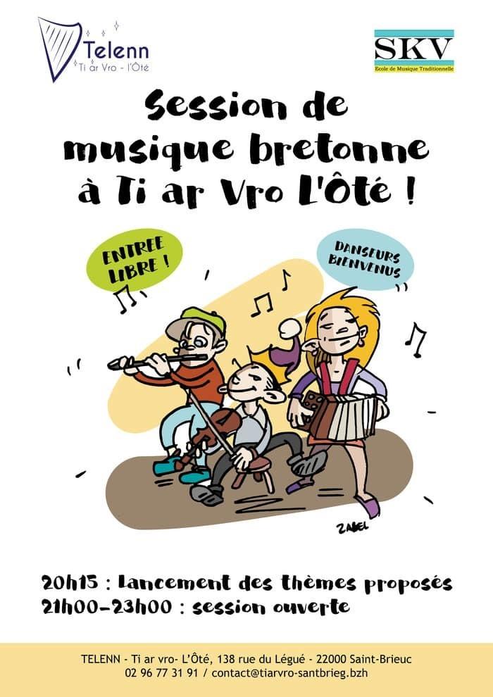 Annulé | Session de musique bretonne