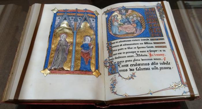Journées du patrimoine 2020 - «Manuscrits enluminés provinois du Moyen-Ȃge »: exposition de documents originaux et présentation par l'Atelier «Opus francigenum»
