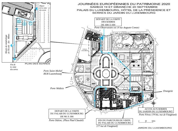 Journées du patrimoine 2020 - Ouverture exceptionnelle des serres du Jardin du Luxembourg