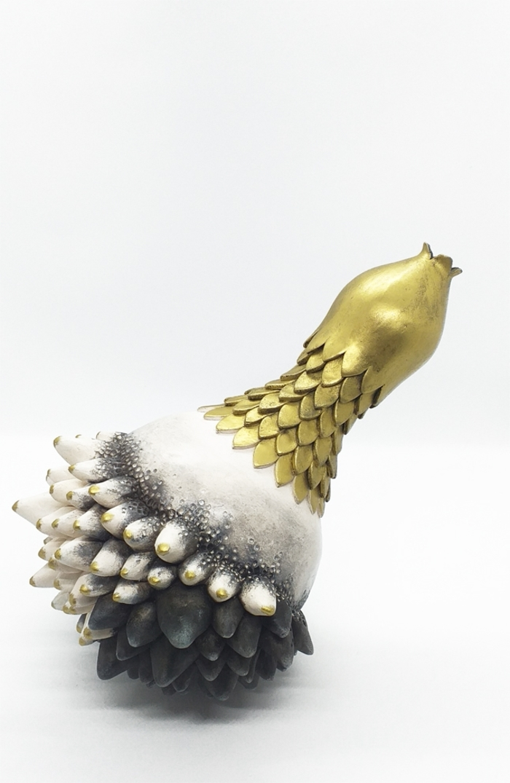 Journées du patrimoine 2020 - METIERS D'ART/ATELIER DU VIEUX MOULIN,Cathy MARRE,céramiste plasticienne,lauréate Auvergne RhôneAlpes,concours Ateliers d'Art de France 2020