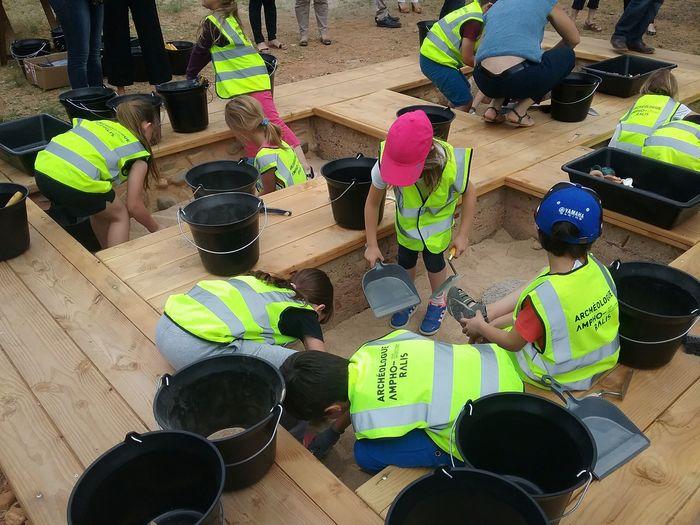 Journées du patrimoine 2019 - Atelier du petit archéologue