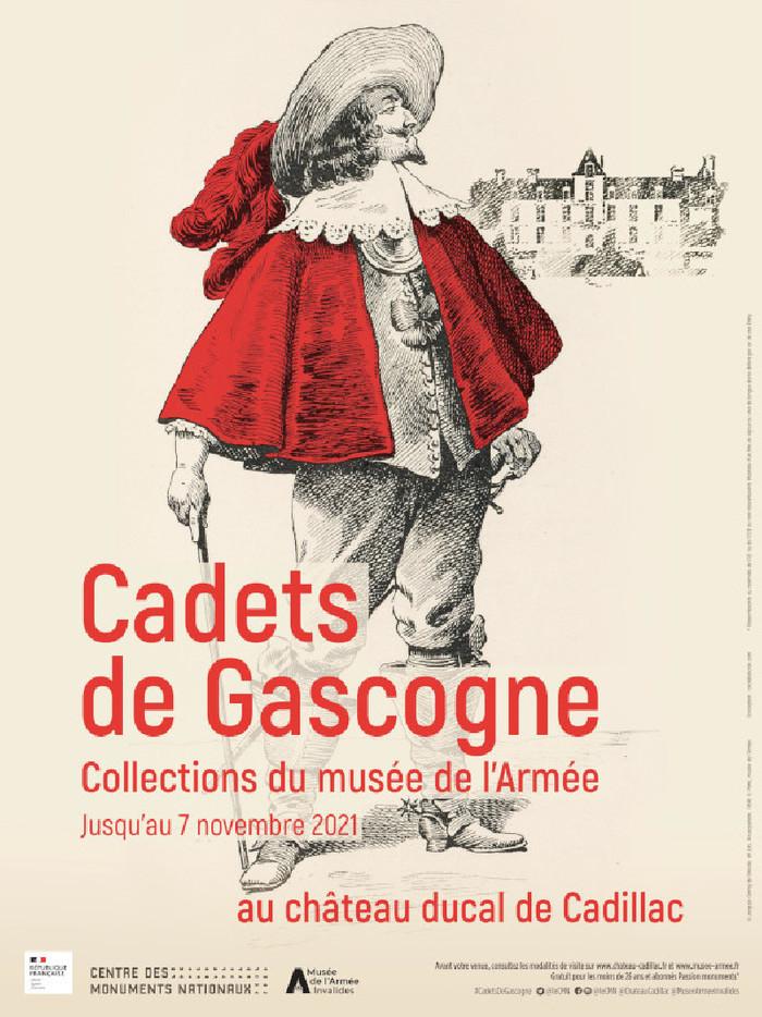 Les Cadets de Gascogne au Château ducal de Cadillac