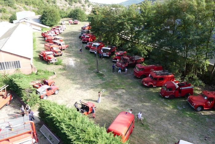 Journées du patrimoine 2019 - Journées Portes ouvertes de la collection des anciens véhicules  de sapeurs pompiers