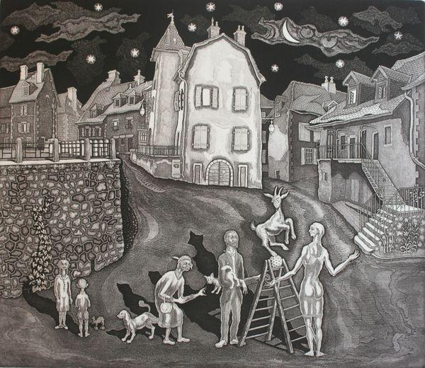 Nuit des musées 2019 -Exposition « Regards sur la Corrèze : András Antal, artiste hongrois »