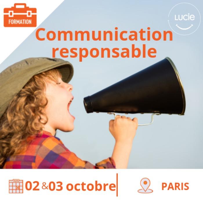 Formation  « Initiation pratique à la communication responsable »