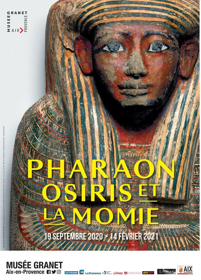 Journées du patrimoine 2020 - Annulé | Visites guidées de l'expositon Pharaon, Osiris et la Momie