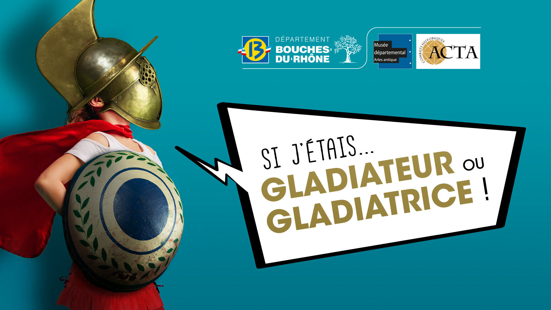 Ludique, interactive et pédagogique, venez vivre une aventure unique dans l'univers de la gladiature. Découvrez le type de gladiateur ou de gladiatrice que vous auriez pu être.
