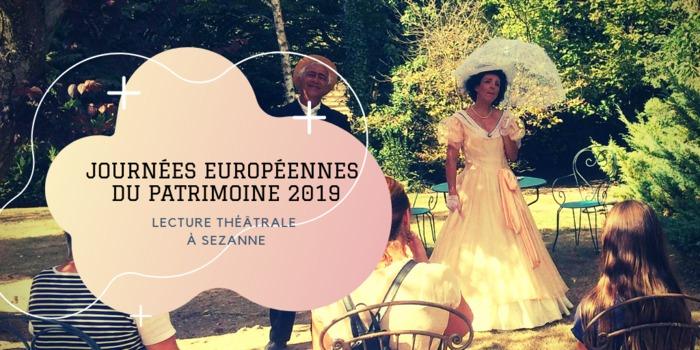 Journées du patrimoine 2019 - Lecture théâtrale