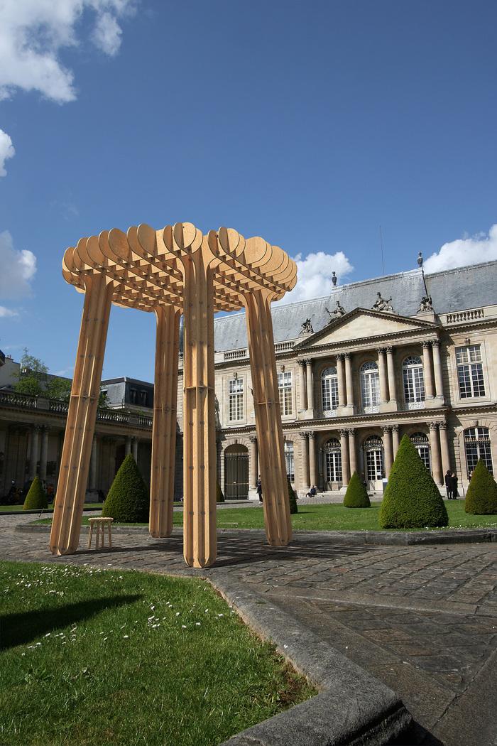 Journées du patrimoine 2019 - Paris Design Week aux Archives nationales: Installation