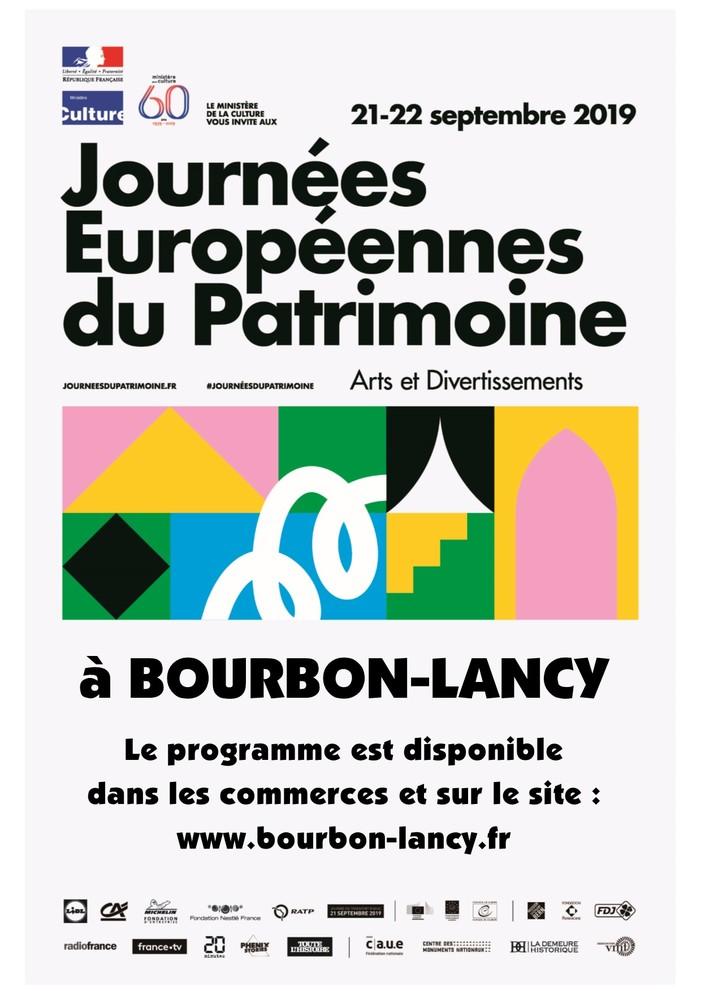 Journées du patrimoine 2019 - Découvrez le patrimoine de Bourbon-Lancy