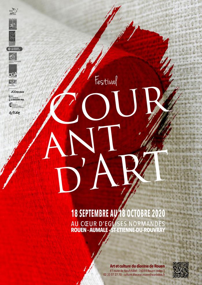 Journées du patrimoine 2020 - Exposition : Festival Courant d' Art 2020