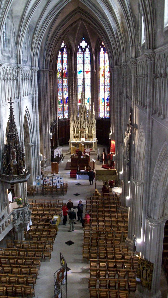 Journées du patrimoine 2019 - Visite libre de l'église Saint-Amé suite à la fin du chantier de restauration