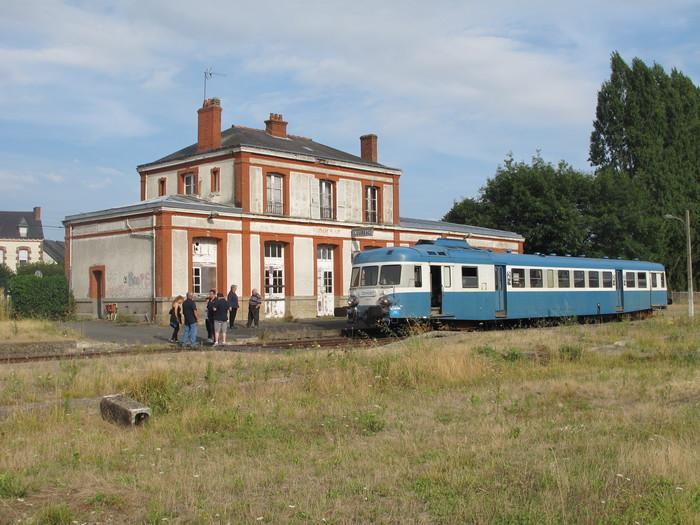 Journées du patrimoine 2020 - Présentation de matériels ferroviaires historiques à Loudéac
