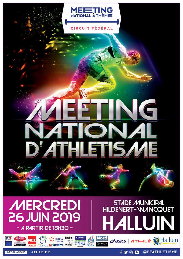 Meeting National d'Athlétisme - Mercredi 26 Juin 2019