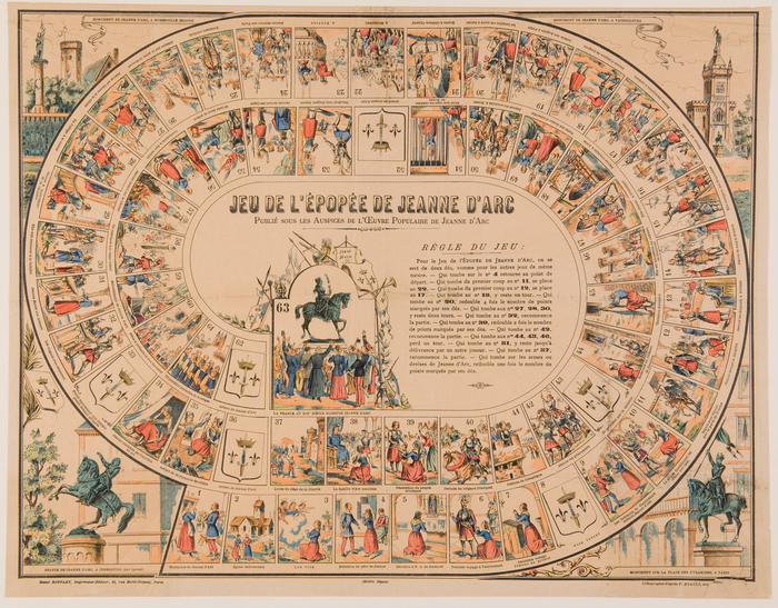 Journées du patrimoine 2019 - Atelier jeux autour de Jeanne d'Arc et du Moyen Âge