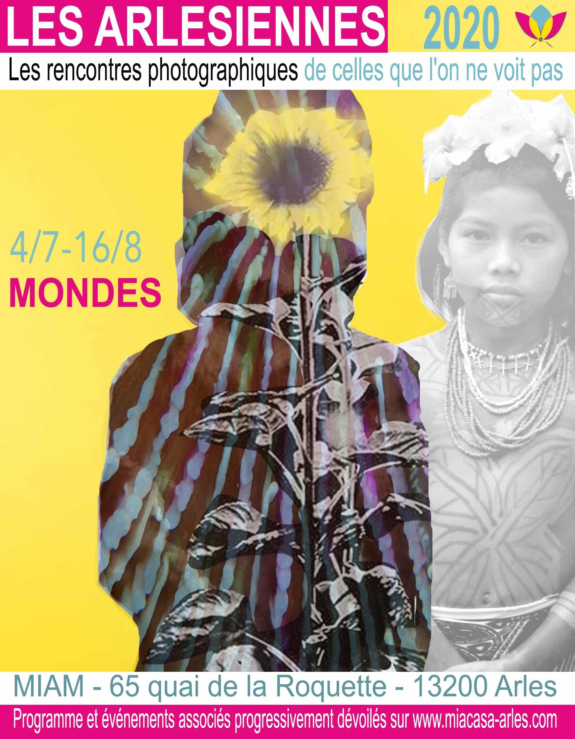 """Première exposition de la manifestation """" Les Arlésiennes - les rencontres photographiques de celles que l'on ne voit pas """", «MONDES» explore le rapport que l'Homme entretient avec la nature."""