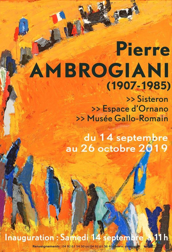 Journées du patrimoine 2019 - Pierre AMBROGIANI