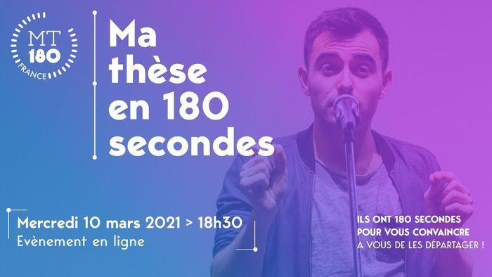 « Ma Thèse en 180 secondes » : 16 doctorant·e·s relèvent le défi de présenter leur thèse en 3 minutes, de manière accessible à tou·te·s.