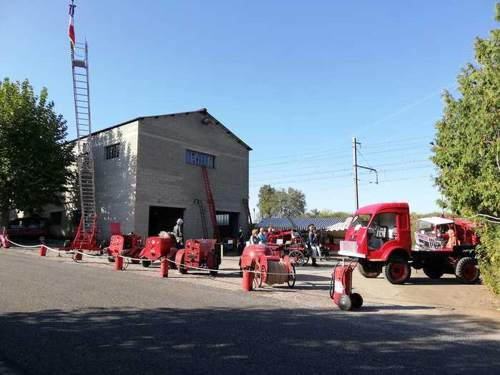 Journées du patrimoine 2020 - Portes ouvertes et exposition des gardes-pompes Bressans
