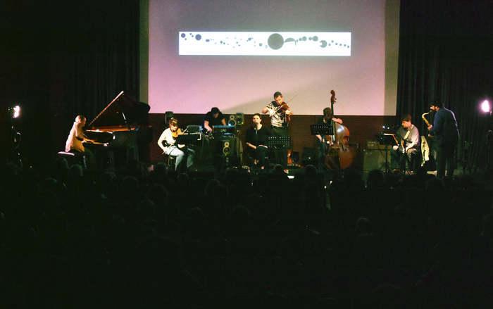 Dans le cadre du festival riverrun, double plateau à l'Athanor avec le Toulouse Improvisers Orchestra et le trio Vierge Noir e