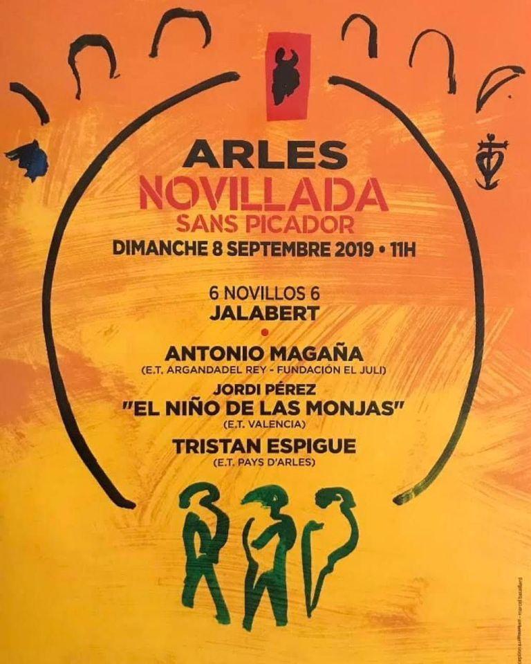 Organisée par l'école taurine du Pays d'Arles