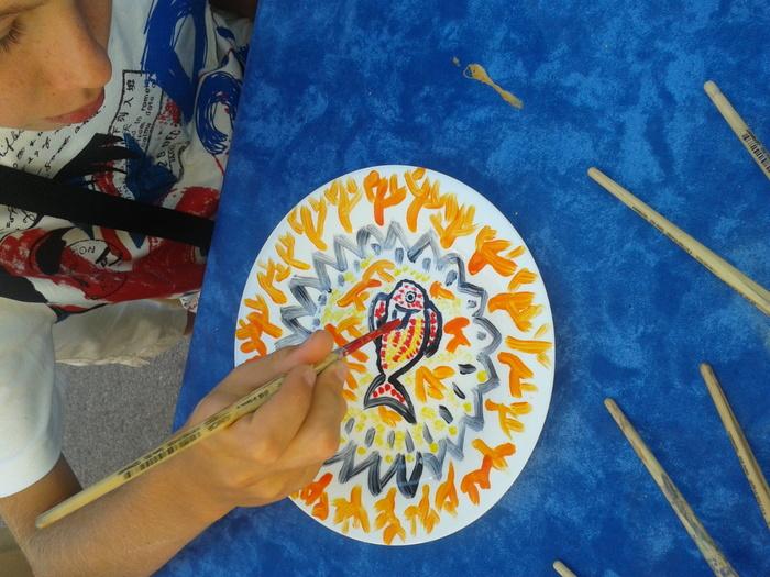 Journées du patrimoine 2019 - Atelier pour enfants de 4 à 12 ans : Décor d'assiette