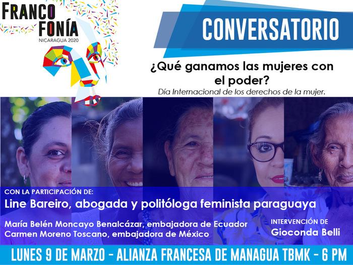 Une discussion à l'occasion de la Journée Internationales des droits des femmes