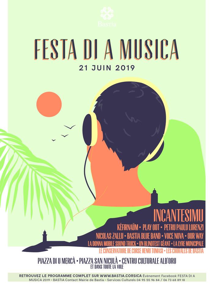 Fête de la musique 2019 - Festa di a musica - Place du Marché