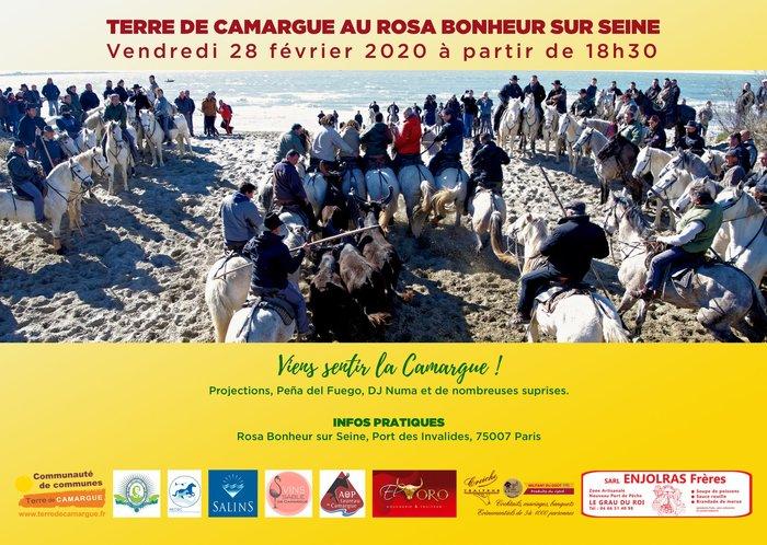 Terre de Camargue au Rosa Bonheur sur Seine