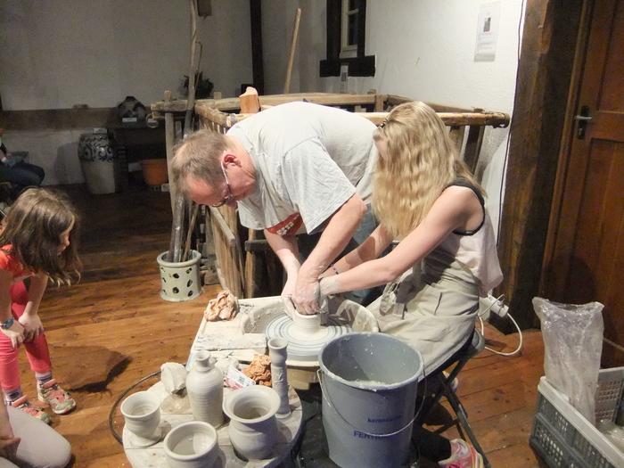 Journées du patrimoine 2020 - Démonstration de tournage par un potier et initiation pour les visiteurs