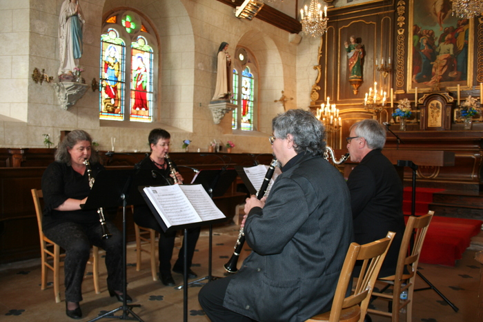 Journées du patrimoine 2020 - Concert : Les clarilloneurs