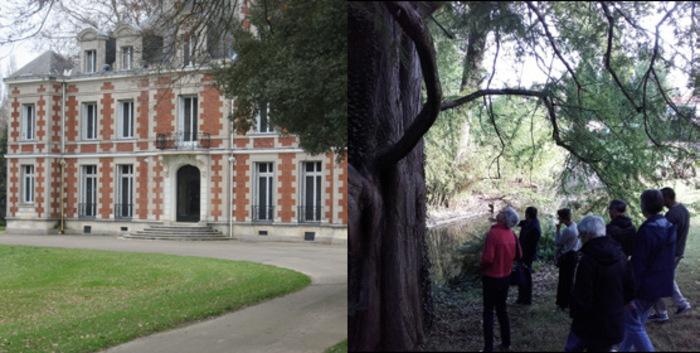 Journées du patrimoine 2020 - Visites guidées du parc du Château de la Gaudinière