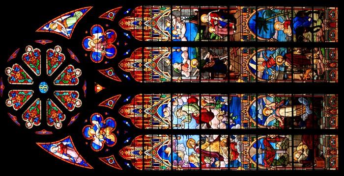 Journées du patrimoine 2020 - Visite guidée des vitraux de l'atelier Lorin de l'église de Saint Vaast la Hougue