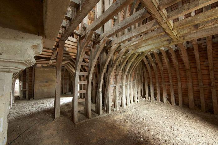 Journées du patrimoine 2019 - Visite guidée des charpentes du château