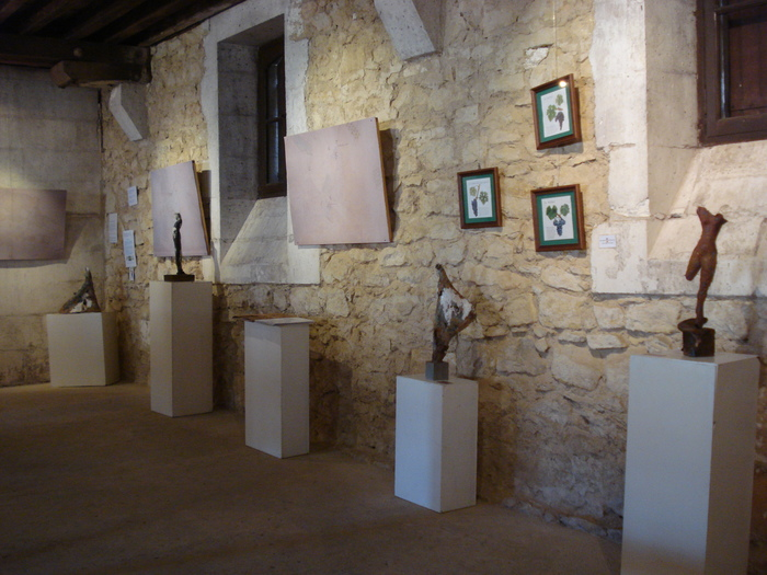 Journées du patrimoine 2019 - Visite d'un vaste chai transformé en musée du vin et de la vigne