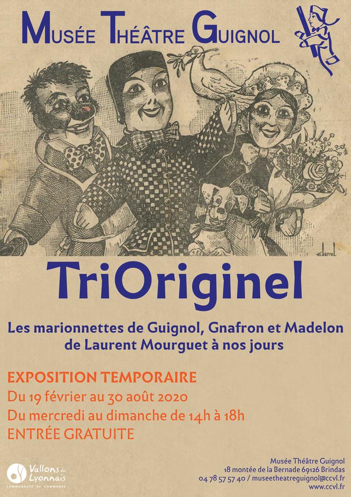 Journées du patrimoine 2020 - Exposition TriOriginel : les marionnettes de Guignol, Gnafron et Madelon de Laurent Mourguet à nos jours