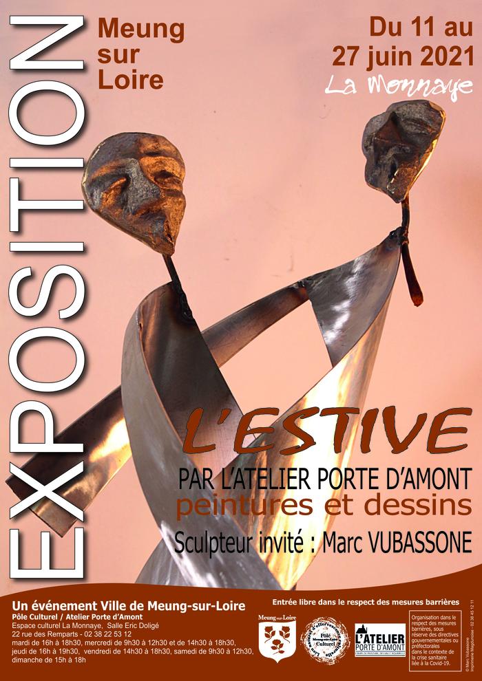 « L'Estive » de l'Atelier Porte d'Amont présente pour la 7ème année consécutive les réalisations artistiques de l'année passée.