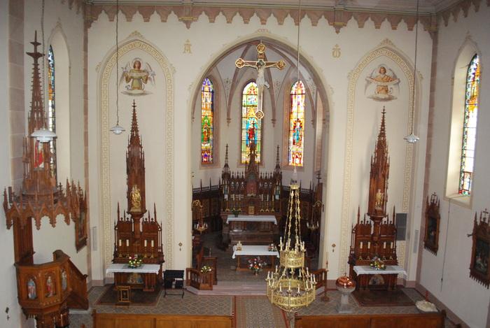 Journées du patrimoine 2019 - Visite guidée de l'église paroissiale de Husseren les Châteaux
