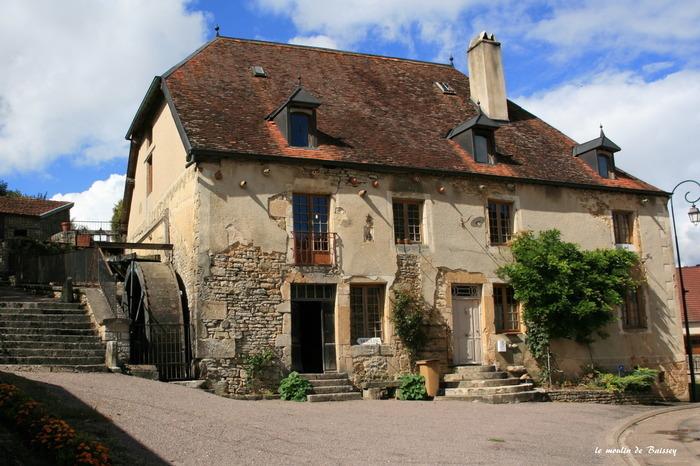 Journées du patrimoine 2019 - Visite commentée du moulin de Baissey (XVe et XIXe)