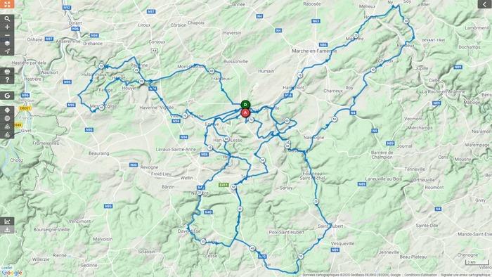 Vélo Club Rochefort - Sortie du samedi 18 avril 2020