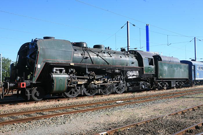 Journées du patrimoine 2019 - En gare du Mans, venez visiter la mythique machine à vapeur R1199
