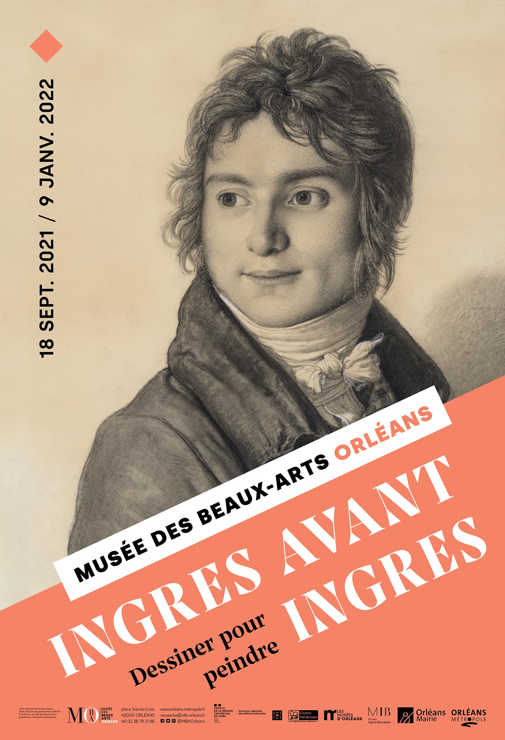 "EXPOSITION & VISITES / ""Ingres avant Ingres - dessiner pour peindre"""
