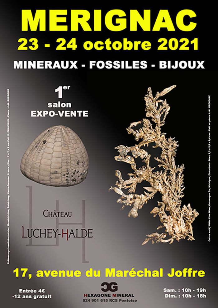 1er Salon Minéraux Fossiles Bijoux de Mérignac