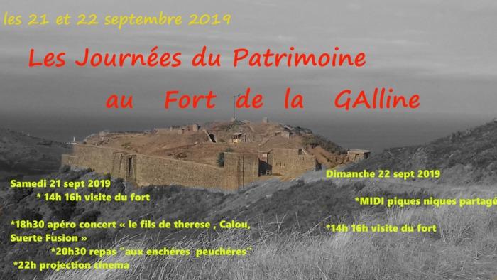 Journées du patrimoine 2019 - Visites et animations au fort de la galline
